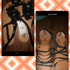 Rue 21 sandals size L or 8/9